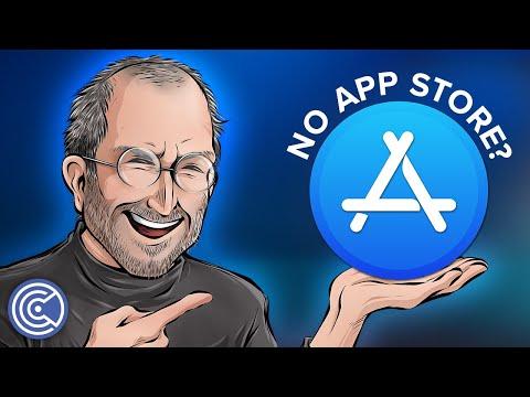 No App Store On IPhone? (Steve Jobs' Opposition) - Krazy Ken's Tech Talk