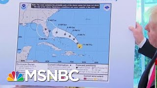 Joe: President Donald Trump Just Can't Say He's Sorry Over Hurricane Map | Morning Joe | MSNBC