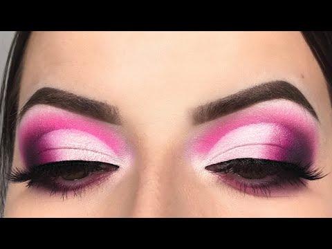 Smokey Pink Cut Crease Makeup Tutorial - Take Me Back To Brazil Palette