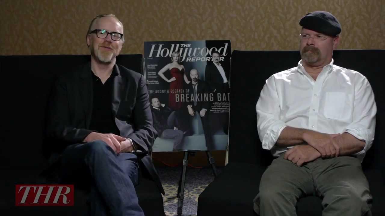 Adam Savage and Jamie Hyneman of 'Mythbusters'