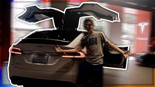 MY FUTURE CAR ($100k TESLA) Arizona Vlog #3 [Nightclub, BTS, Suns Game]