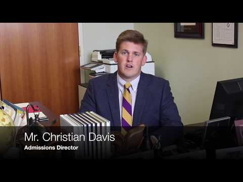 Mr. Christian Davis, Admissions Director