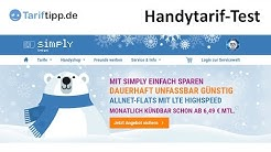 Test: simply Handytarife