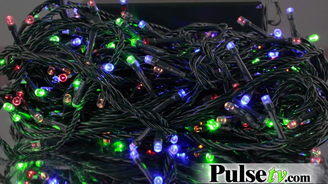 200 led battery operated string lights
