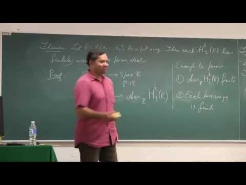 Applications of D modules in Commutative Algebra 3