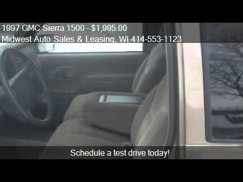 1997 GMC Sierra 1500 Ext. Cab 6.5-ft. Bed 4WD - for sale in