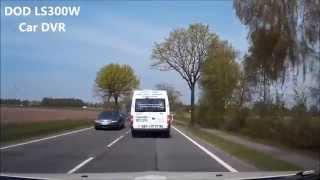 видео Видеорегистратор DOD LS300W (Original)
