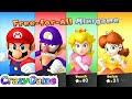 Mario Party 10 Mario Party #30 Peach vs Daisy vs Mario vs Waluigi Gameplay (Chaos Castle)