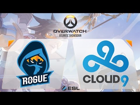 Overwatch - Rogue vs. Cloud9 - Overwatch Atlantic Showdown - Gamescom Finals - Group B