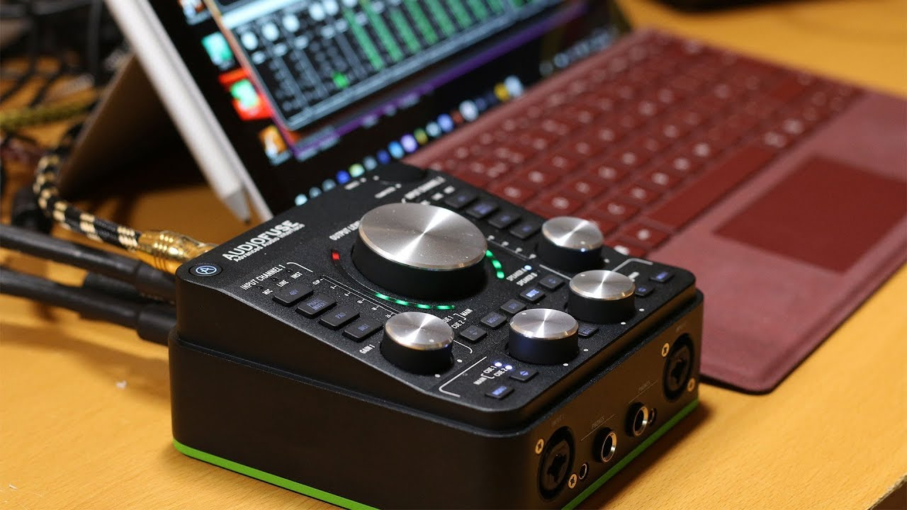 arturia audiofuse 1 1 usb audio interface full review on windows youtube. Black Bedroom Furniture Sets. Home Design Ideas