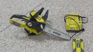 Ryobi 12 inch 40 Volt Lithium-Ion Cordless Chainsaw (Home Depo)