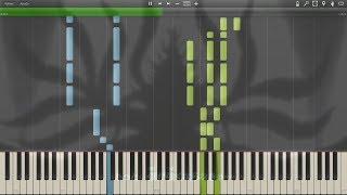 "Naruto Shippuden - Opening 14 ""Tsuki no Ookisa"" ( 月の大きさ ) v2 - Synthesia Piano HD"