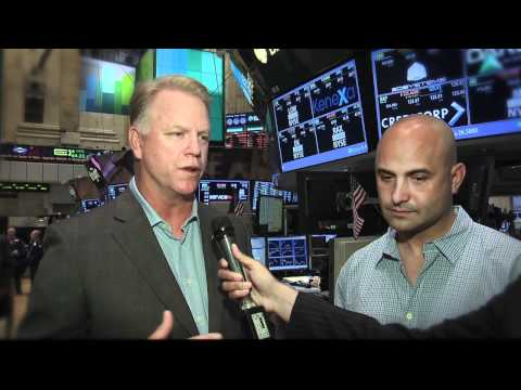Sports Radio 66 WFAN Radio Personalities ring the NYSE Closing Bell