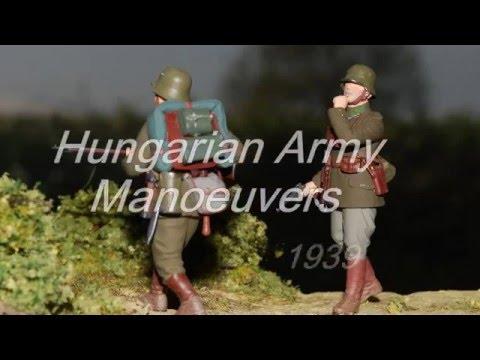 Hungarian Army Manoeuvers 1939