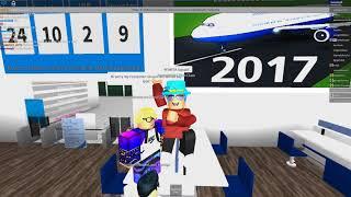 ROBLOX | Flying With Aqua Airways Again... xD | fantashtish