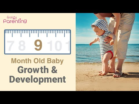 Your 9 Month Old Baby's Growth & Development
