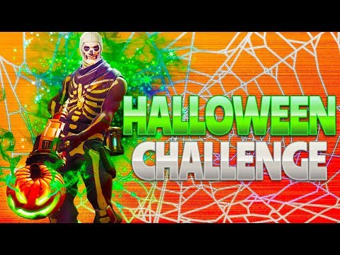 HALLOWEEN CHALLENGE (Fortnite Battle Royale)