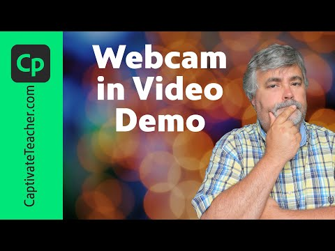Adobe Captivate Video Demo Now With Webcam
