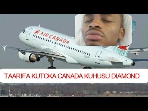 HUZUNI! Taarifa Mbaya Tuliyopokea Kuhusu Diamond Platnumz Hivi Punde Kutoka Canada
