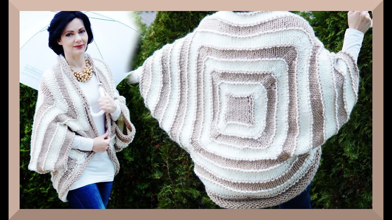 OUTFIT OF THE DAY MÄRZ 2015 mit gestricktem Cardigan - Anleitung ...