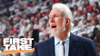 Gregg Popovich Is The 'Belichick Of The NBA' | First Take | May 12, 2017