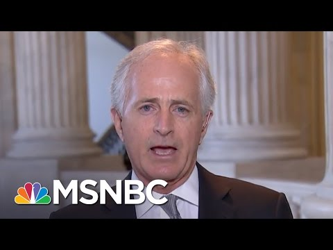 Senator Bob Corker: White House Needs Organizing Structure | Morning Joe | MSNBC