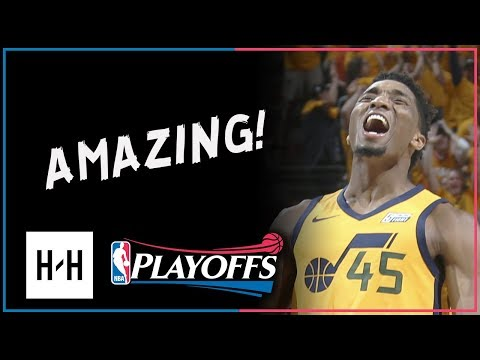 Donovan Mitchell CRAZY Full Game 6 Highlights Vs Thunder 2018 NBA Playoffs - 38 Points, ROTY Mode!