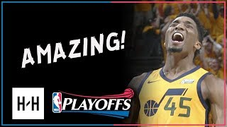 Donovan Mitchell CRAZY Full Game 6 Highlights vs Thunder 2018 NBA Playoffs - 38 Points, ROTY Mode!