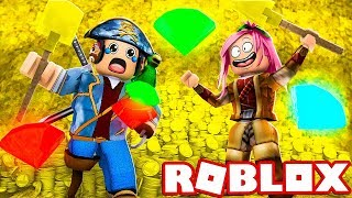 WE FIND A TREASURE from 1,000,000 euros on ROBLOX