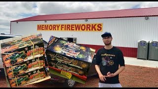 Memory Fireworks Shopping Trip and Update