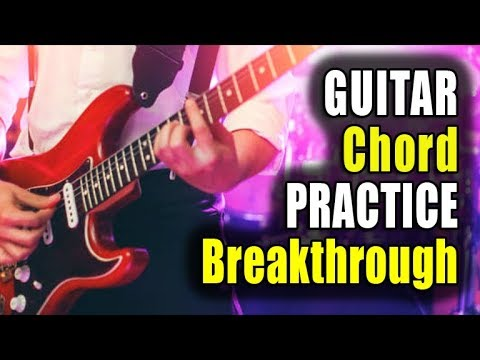 Chord Practice Breakthrough Leaves Guitarists Speechless (Try it Tonight)