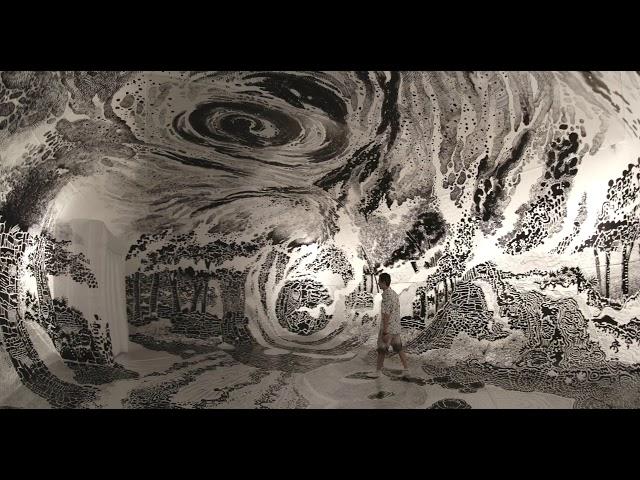 Paradise drawing by Oscar Oiwa