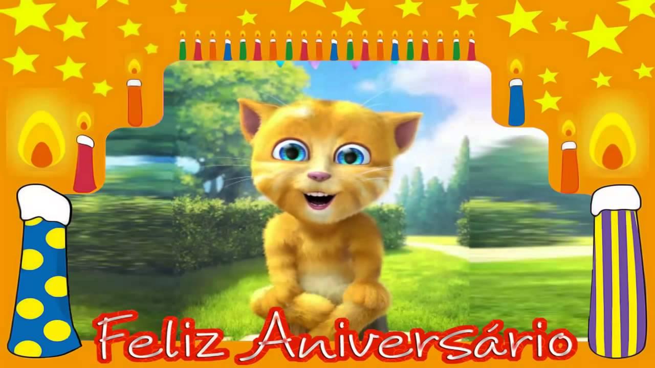 Parabéns Pra Você ! Feliz Aniversário Video Mensagem De