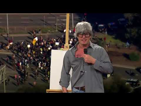 How to paint like a BLM protestor