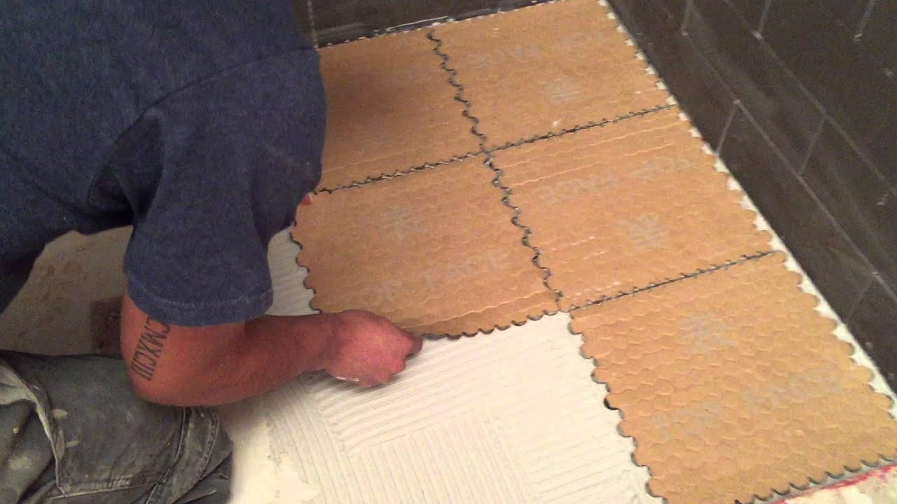 How To Install Paper Backed Glass Tile Youtube