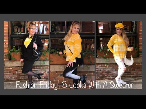 151st-fashion-friday...3-looks-with-one-sweater!-professional/business-to-classy/fun-to-casual/cute