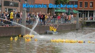 Kiwanis Duckrace in Spijkenisse voor de Rein Lander Hoeve