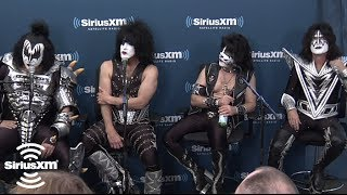 "KISS ""Positive attitude can make anything possible"" // SiriusXM // Hair Nation OCT 2012"