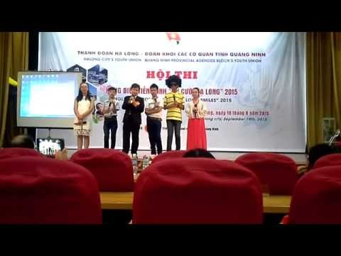 "English orator contest ""Ha Long smiles"" 2015"