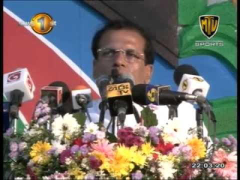 Maithripala Sirisena - Complete Speech MTV Sports - 01st December 2014