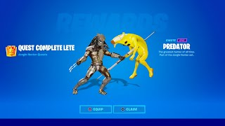 HOW TO GET PREDATOR SKIN IN FORTNITE!