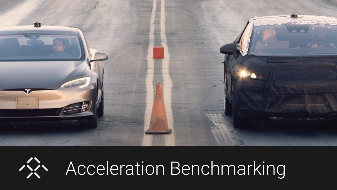 Ff Prototype V Tesla Model S Mph Results Youtube