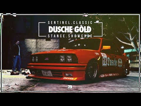GTA5 STANCE | DUSCHE GOLD | SENTINEL CLASSIC | SHOWCASE CINEMATIC XB1 ( DOOMS DAY DLC )