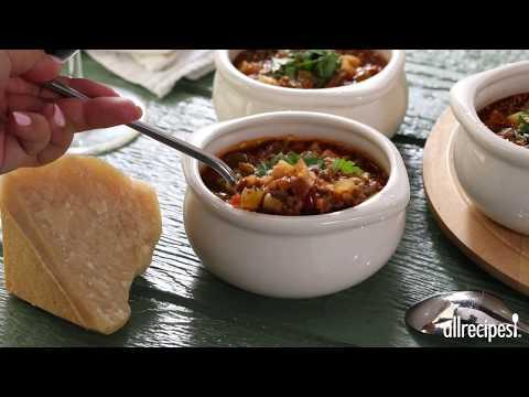 How to Make Pasta e Fagioli a la Chez Ivano   Soup Recipes   Allrecipes.com