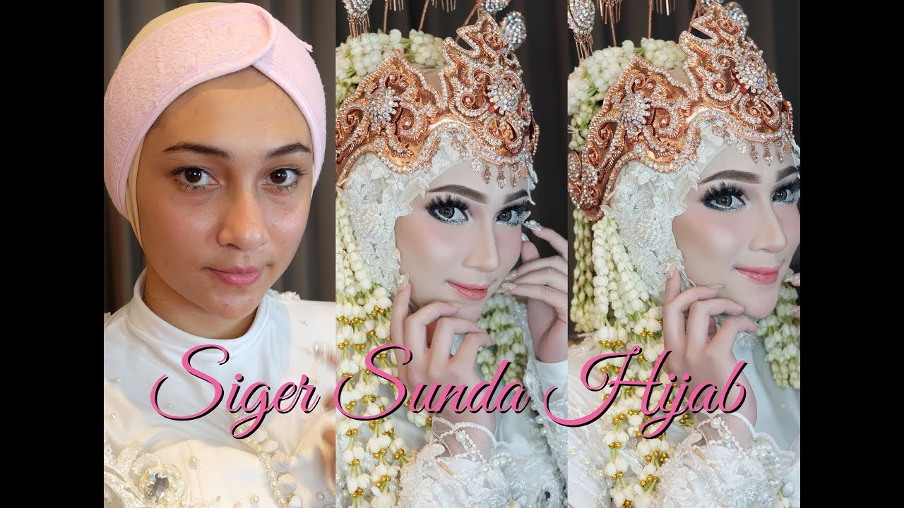Tutorial Make Up Hijab Siger Sunda