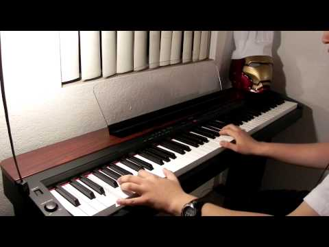 Iron Man 3 Main Theme (piano cover)