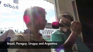Jovi's yerba mate trip started at the annual FENACHIM Brazilian yer...