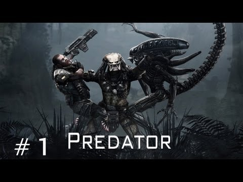 Aliens Vs Predator - Walkthrough Predator Part 1