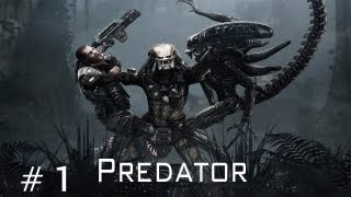 Aliens vs Predator - Walkthrough Predator Part 1