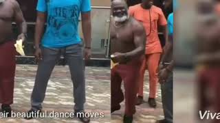 Nollywood Actor Harry B showing off his wonderful moves..